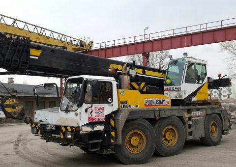 Żuraw samojezdny 45 ton