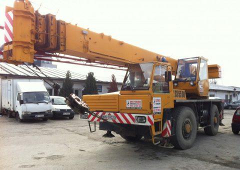 Żurawie samojezdne 35 ton