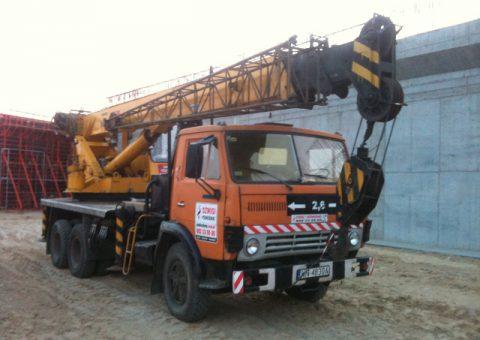 Żurawie samochodowe 18 ton