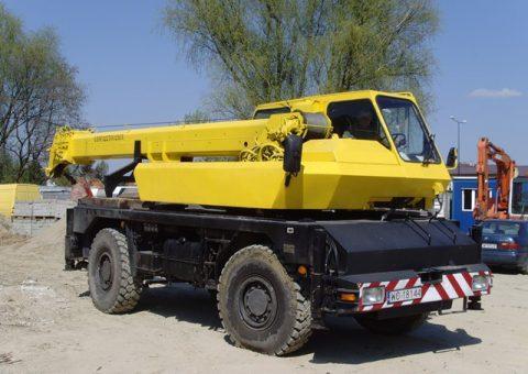 Żuraw samojezdny 20 ton