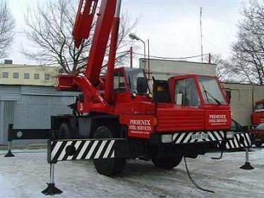 Sprzedam dźwig TEREX-PPM 35TON