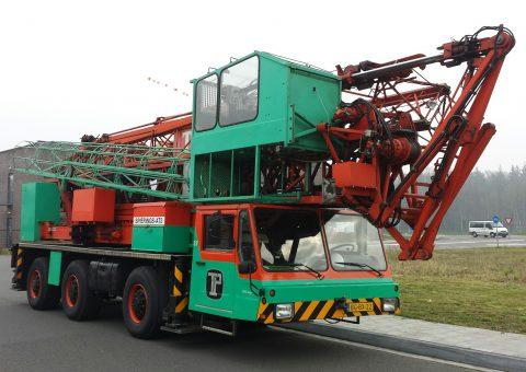 Mobilny żuraw wieżowy 30 metrów