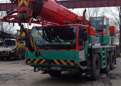Dźwig kołowy 50 ton