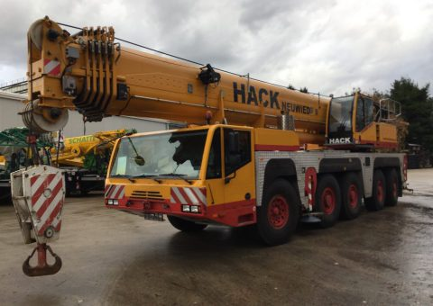 Żuraw samojezdny 160 ton
