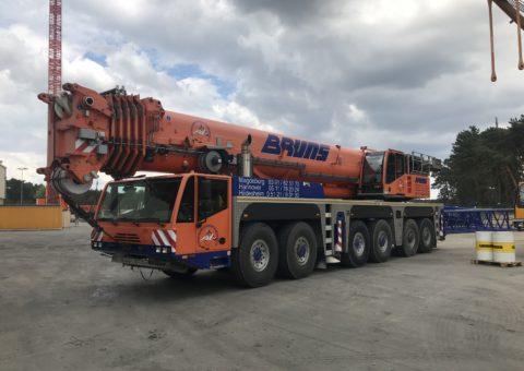 Dźwig samojezdny 350 ton