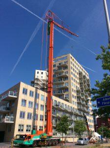 Żuraw mobilny Spierings SK1265 AT6 - 60 metrów i wysokość podnoszenia 37 metrów
