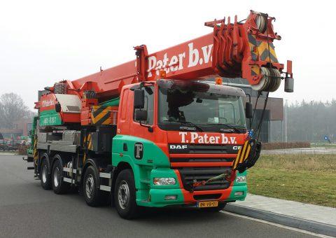 Żuraw samochodowy 60 ton
